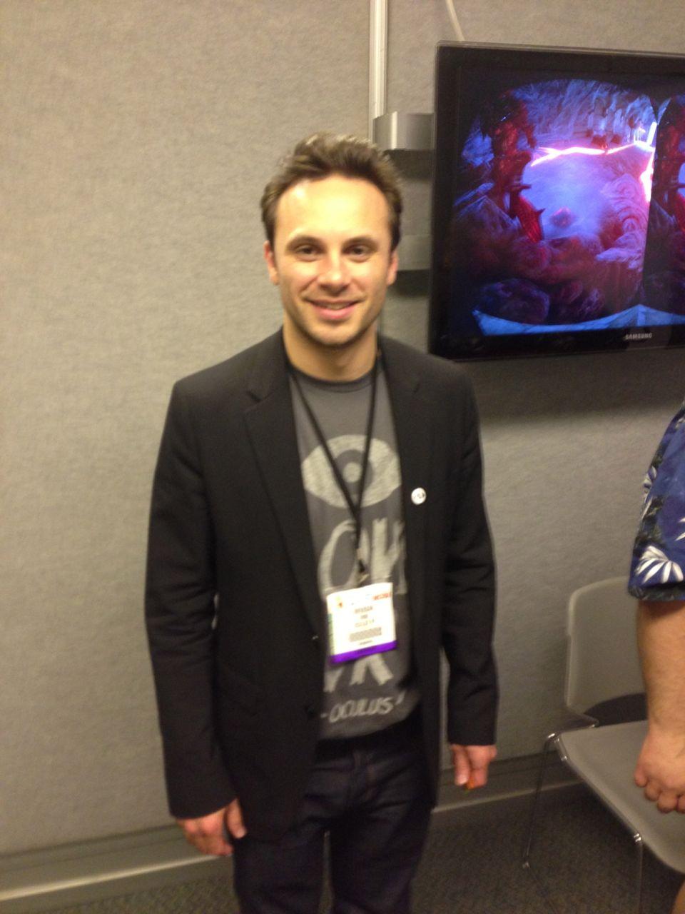 Oculus VR CEO Brendan Iribe
