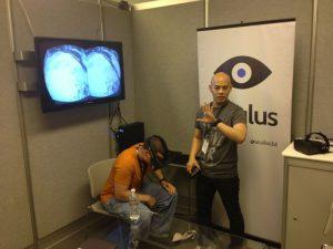 Oculus' Joseph Chen gives a Rift demo at E3 2013