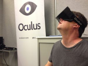 Kris Roberts and the HD Oculus Rift Prototype!