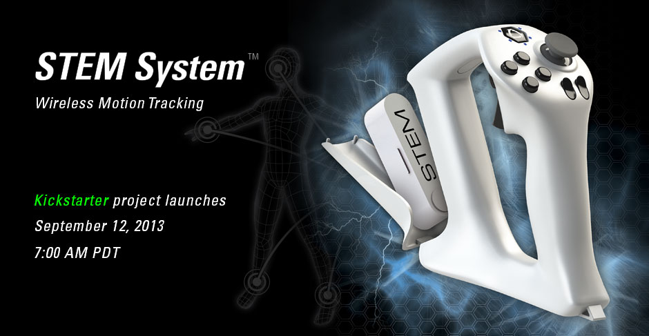 Sixense STEM Kickstarter