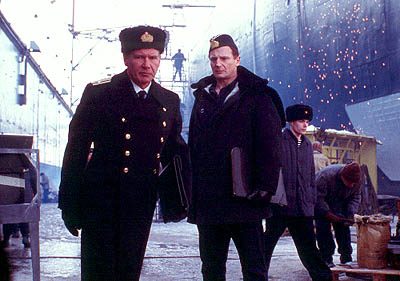 Harrison Ford and Liam Neeson in K19 The Widowmaker
