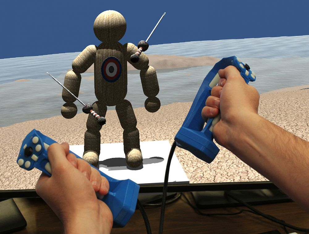 Tactical Haptics' Controller Prototype