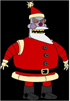 Futurama Santa