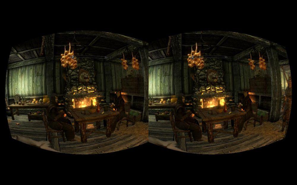 Vireio Perception Running Elder Scrolls V: Skyrim