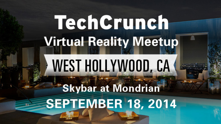 TechCrunch VR Meetup