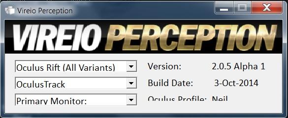 Vireio Perception 2.0.5 Alpha 1