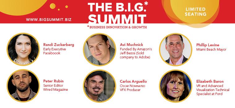 B.I.G. Summit Speakers