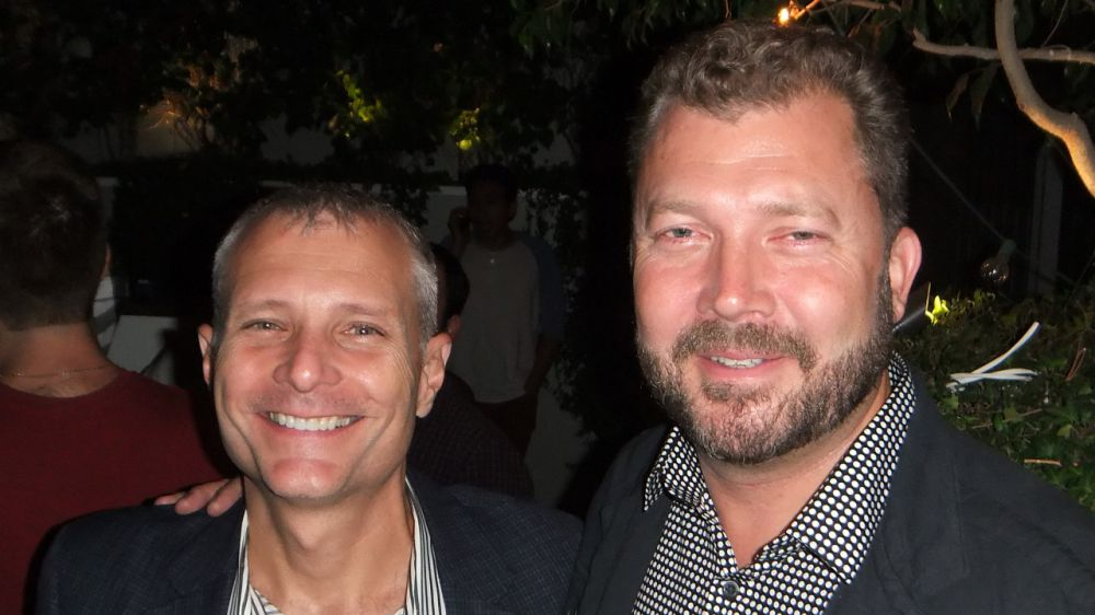 NextVR Co-Founders David Cole (left) and DJ Roller (Right)