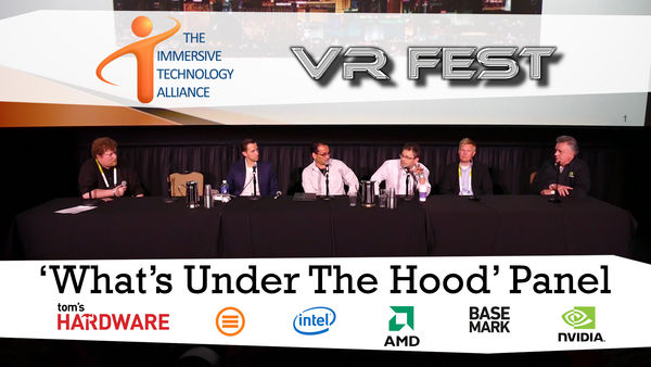 VR Fest ITA What's Under the Hood Panel at CES 2016
