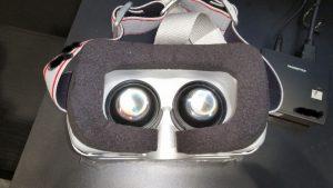 Wireless VR HMD Prototype for PC Optics
