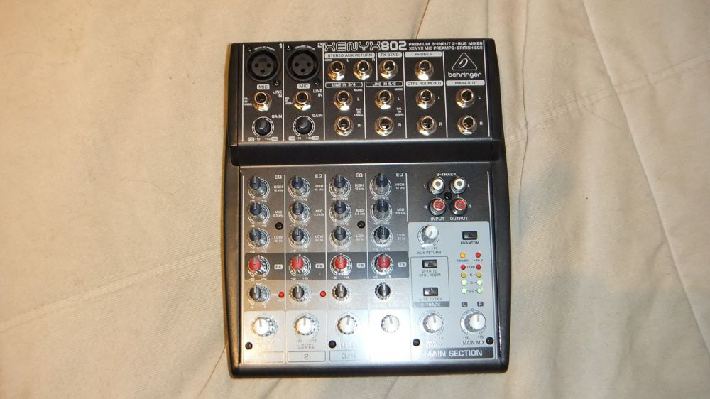 Neil's New Mixer