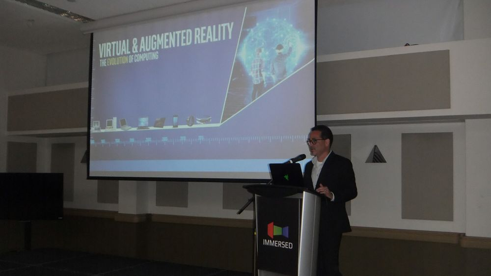 Frank Soqui, General Manager of VR for Intel at Immersed 2017