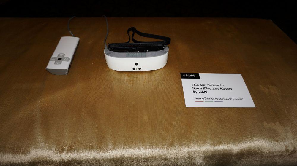 eSight Glasses at CES 2018
