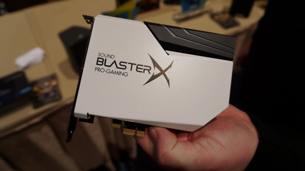 New Sound Blaster X-Fi at CES 2018
