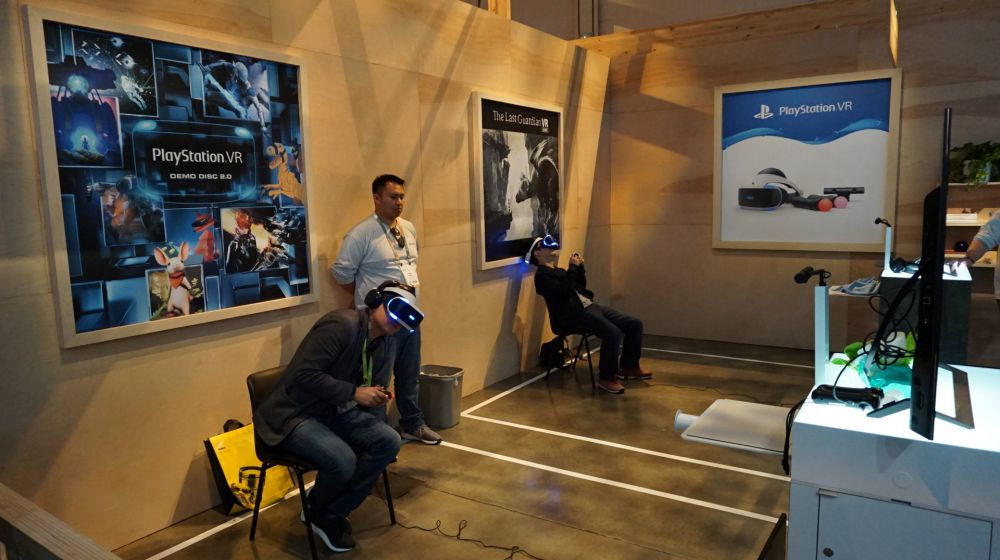 Sony PlayStation VR Exhibit at CES 2018