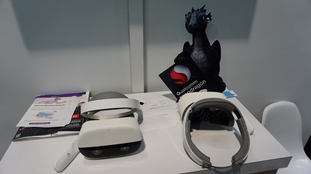 Pico HMD and Controller at CES 2018