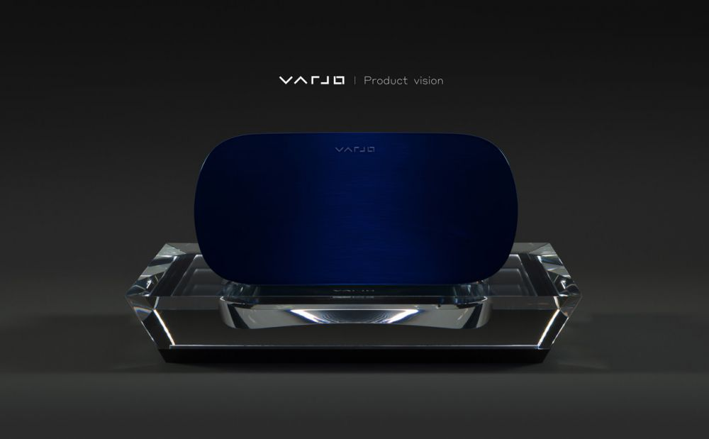 Varjo HMD Mock-up
