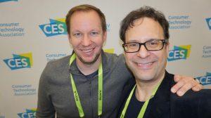 L-R: Joshua Wert, CEO of Basemark and Neil Schneider, Founder of MTBS